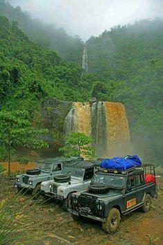 Land Rover Series SouthAmérica.