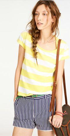 Bungalow Stripe Shorts, madewell.com