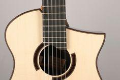Custom Nylon strings guitar