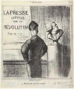 Honoré Daumier: Décidément je lui ressemble (I definitely like him), 1866. Lithography. CollectionChâteau de Compiègne, Compiègne, France.