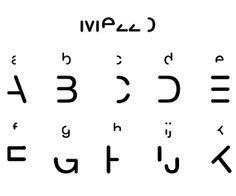 Zuinig lettertype gratis te downloaden
