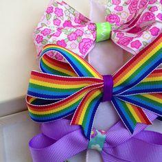 DIY hair bows.