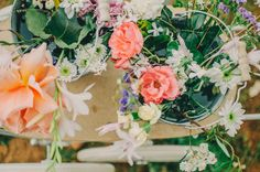 #rustic #country #wedding #party #decorations #flowers @treenridge
