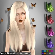 Sims 4 Butterfly Accessory