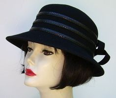 Classic Hat! Black Lamp to keep you warm! By HAT-A-TUDE.COM