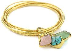 "Zariin ""A Tryst with The Wrist"" Multiple-Stone Bracelet. Cute"