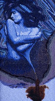 She Touches Down, 2003 Marcus Amerman (Choctaw Nation of Oklahoma) #beadwork