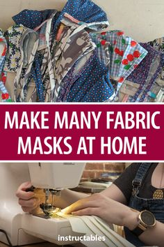 Learn tips and tricks to easily mass produce fabric masks at home. Sewing Patterns Free, Sewing Ideas, Free Pattern, Sewing Projects, Crochet Mask, Knit Crochet, House Gifts, Sewing Class, Bias Tape
