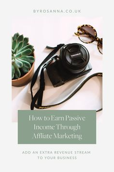 Add an extra revenue stream to your business through Affiliate and referral programs | #AffiliateMarketing #RevenueStreams #PassiveIncome