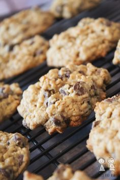 The Perfect Chocolate Chip Oatmeal Cookie - Coco and Ash
