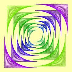 curve stitching art