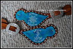 custom spur straps