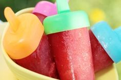Dr. Oz Turnip Chips and Healthy popsiclesWho knows maybe the kids will like them if they think they are NOT healthy for them:)
