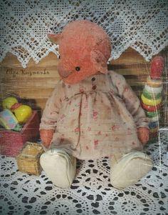 15 inch Handmade OOAK Plush Teddy Bear Varya by Kuzmenko Olga | eBay
