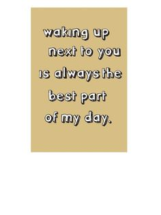 Quotes About Love : QUOTATION – Image : Quotes Of the day – Description best Sharing is Power – Don't forget to share this quote ! Sign Quotes, Me Quotes, Dear Boyfriend, All You Need Is Love, My Love, Best Part Of Me, Love Of My Life, Wake Up, Quote Of The Day
