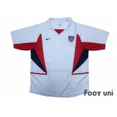 c01ed8bb5c7 Photo1  USA 2002 Home Shirt -2002 Korea Japan FIFA World Cup USA Home Shirt