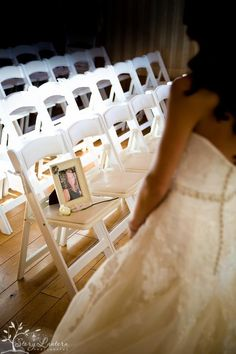 Wedding memory A seat for my mother who couldn't be there on my special day