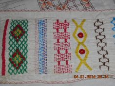 Picture Dictionary » Sarah's Hand Embroidery Tutorials ***Awesome website with tons of embroidery stitches, some of her own creation, beautiful work!