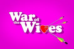 Graphic title treatment for War Of The Wives, a BRAVO reality show that *almost* made it to air. Brandon Bell, Live Events, Design Development, Motion Graphics, Over The Years, Branding, Neon Signs, War, Digital