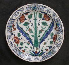 Dish 16th - 17th century Turkey