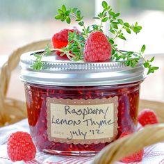 Raspberry Lemon Thyme Jam