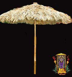 Kahuna Tiki Huts Bars Thatch Umbrellas And Accessories