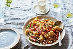 Roasted Squash & Cauliflower Salad with Tahini Dressing recipe on Food52
