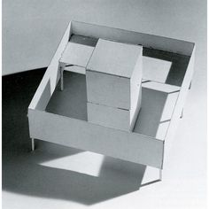 Lygia Clark 'A Casa do Poeta' (Maquete), 1964.