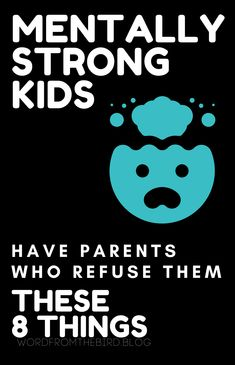 Mentally and emotionally strong kids have parents who refuse to do these 8 things with their kids. Find out what it takes to make sure your children can emotionally thrive. Parenting Books, Gentle Parenting, Parenting Advice, Kids And Parenting, Kids Mental Health, Mentally Strong, Mom Advice, Super Mom, Raising Kids
