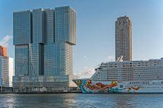 Cruises, Rotterdam, Willis Tower, Skyscraper, City, Building, Places, Travel, Voyage