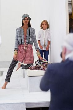 Behind The Scenes - Joan Smalls for Chanel Resort 2015 Campaign