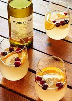 Woodbridge Winter White Cranberry Sangria