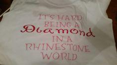 It's hard being a diamond