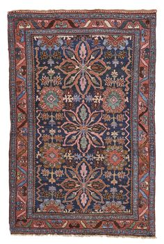 Bidjar rug, Northwest Persia approximately 217 by 143cm; 7ft. 1in., 4ft. 8in. first quarter 20th century