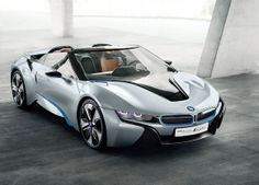 Visit The MACHINE Shop Café... ❤ Best of BMW @ MACHINE ❤ (2014 BMW i8 Spyder Concept)