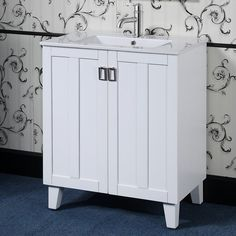 "Larabee 30"" Single Sink Bathroom Vanity Set"