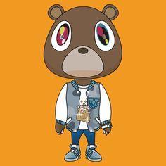 Kanye West Bear From His Albums Kanye West Graduation Bear Bear Art Kanye West Bear