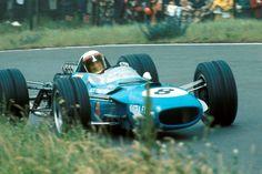 Jackie Stewart, Matra MS10-Ford, #8, (finished 1st), Dutch Grand Prix, Zandvoort, 1968.