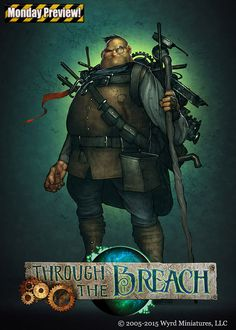 Some New Artwork For Through The Breach The RPG From Wyrd