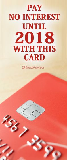 If you're looking for a great balance transfer credit card with a long 0% APR while also offering tremendous cash back rewards then look no further. Pay no interest until 2018 and also enjoy cash back rates up to 10% with jaw-dropping card. Get the scoop at NextAdvisor and start earning today.