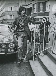 George Harrison at Abbey Road Studios, June 21st, 1967.