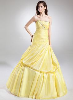 Quinceanera Dresses - $228.99 - Ball-Gown Sweetheart Floor-Length Taffeta Quinceanera Dress With Ruffle Beading (021004726) http://amarmoda.com/Ball-gown-Sweetheart-Floor-length-Taffeta-Quinceanera-Dress-With-Ruffle-Beading-021004726-g4726