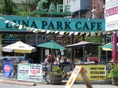 Luna Park Cafe, West Seattle....homeof the world's best chili dogs and milk shakes!
