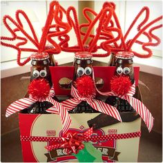 Rudolph the Red-Nosed Root Beer