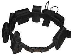 Black Law enforcement modular equipment system security military tactical duty utility belt First to act tactical http://www.amazon.com/dp/B00NW4HOBO/ref=cm_sw_r_pi_dp_mEzewb12J352S