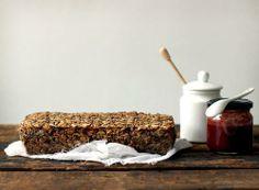 Healthy bread from ancient grains - no flour, no eggs, no dairy, no butter... #vegan #glutenfree #bread