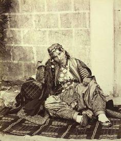 Josef Székely VUES IV 41061 Shkodra: Albanian woman (Scutarine bride). End of August 1863