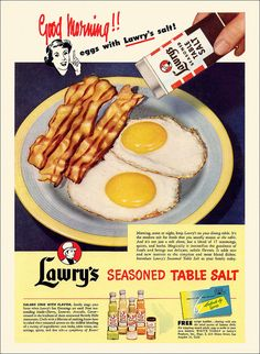 Lawry's Salt Ad, 1950 | by alsis35 (now at ipernity)