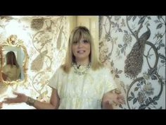 Decorating with Wallpaper with designer Michele Stoll.