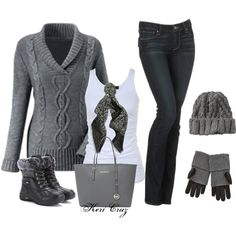 """""""Baby, it's cold outside!"""" by keri-cruz on Polyvore"""